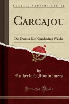 9780243996100 - Montgomery, Rutherford: Carcajou - Book