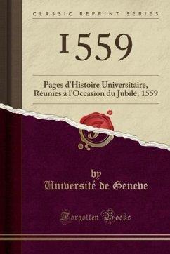 9780243994649 - Geneve, Université de: 1559 - كتاب