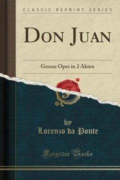 9780243987269 - Ponte, Lorenzo da: Don Juan - Liv