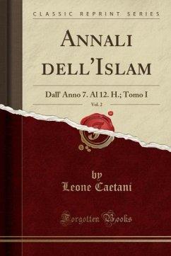 9780243996834 - Caetani, Leone: Annali dell´Islam, Vol. 2 - Book