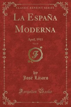 9780243989461 - Lázaro, José: La España Moderna, Vol. 23 - Liv