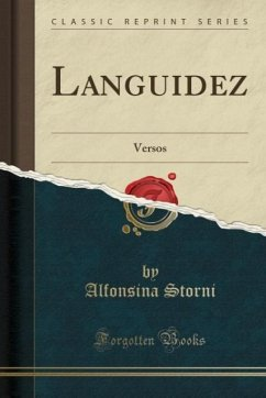 9780243991037 - Storni, Alfonsina: Languidez - Book