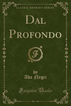 9780243992805 - Negri, Ada: Dal Profondo (Classic Reprint) - Book
