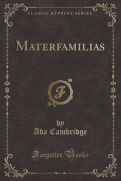 9780243988686 - Cambridge, Ada: Materfamilias (Classic Reprint) - Liv