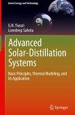 Advanced Solar Distillation Systems