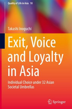 9789811047220 - Inoguchi, Takashi: Exit, Voice and Loyalty in Asia - Book