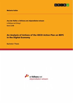 An Analysis of Actions of the OECD Action Plan on BEPS in the Digital Economy (eBook, PDF)