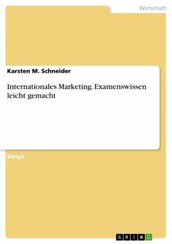 Internationales Marketing. Examenswissen leicht gemacht (eBook, PDF)