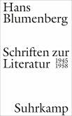 Schriften zur Literatur 1945-1958 (eBook, ePUB)