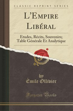 9780243999071 - Ollivier, Émile: L´Empire Libéral - Book