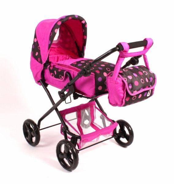 Babypuppen & Zubehör Puppen & Zubehör Puppenbuggy Roma Pinky Balls