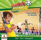 Teufelskicker - Paula im Abseits!, 1 Audio-CD