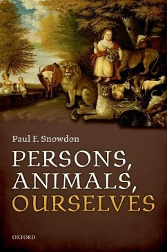 PERSONS ANIMALS OURSELVES
