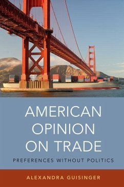 American Opinion on Trade: Preferences Without Politics - Guisinger, Alexandra
