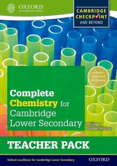 Complete Chemistry for Cambridge Lower Secondary Teacher Pack - Gardom-Hulme, Philippa
