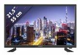 Lenco DVL-2261 schwarz 55 cm (22 Zoll) Fernseher (Full HD, DVB-T2/ DVB-S2/ DVB-C)