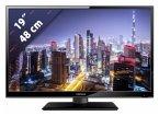 Lenco DVL-1961 schwarz 47 cm (19 Zoll) Fernseher (HD ready, DVB-T2/ DVB-S2/ DVB-C)