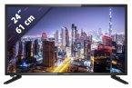 Lenco DVL-2461 schwarz 61 cm (24 Zoll) Fernseher (Full HD, DVB-T2/ DVB-S2/ DVB-C)