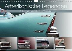 Amerikanische Legenden - Autoklassiker der 50er und 60er Jahre (Wandkalender 2018 DIN A4 quer)