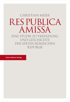 Res publica amissa (eBook, PDF) - Meier, Christian