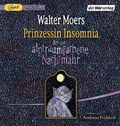 Prinzessin Insomnia & der alptraumfarbene Nachtmahr / Zamonien Bd.7 (1 MP3-CDs) - Moers, Walter