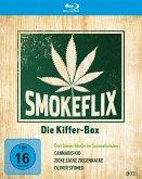 Smokeflix - Die Kiffer-Box (Cannabis Kid, Zicke Zacke Ziegenkacke, Oliver Stoned) BLU-RAY Box