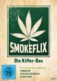 Smokeflix - Die Kiffer-Box (Cannabis Kid, Zicke Zacke Ziegenkacke, Oliver Stoned) DVD-Box