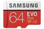 Samsung microSDXC EVO+ 64GB mit Adapter MB-MC64GA/EU