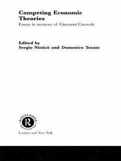 Competing Economic Theories (eBook, ePUB) - Nisticò, Sergio; Tosato, Domenico