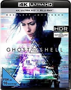 Ghost in the Shell - 2 Disc Bluray - Scarlett Johansson,Pilou Asbæk,Takeshi Kitano
