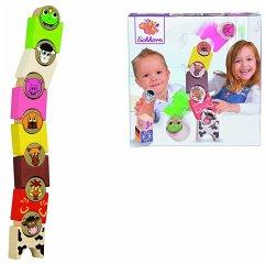 Simba Toys; Eichhorn Eichhorn 100072308 - Stapeltiere Bauernhof, 14-teilig, Reisespiel, Mitbringspiel
