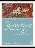 On Directing and Dramaturgy (eBook, ePUB)