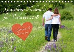 Gutschein-Kalender für Verliebte 2018 (Tischkal...