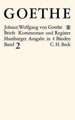 Goethes Briefe und Briefe an Goethe Bd. 2: Briefe der Jahre 1786-1805 (eBook, PDF)