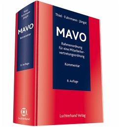MAVO - Kommentar zur Rahmenordnung für eine Mitarbeitervertretungsordnung - Thiel, Adolf; Fuhrmann, Martin; Jüngst, Manfred