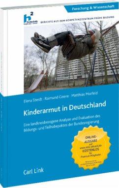 Kinderarmut in Deutschland - Sterdt, Elena; Geene, Raimund; Morfeld, Matthias