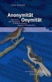 Anonymität - Onymität (eBook, PDF)