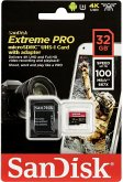 SanDisk microSDHC A1 100MB 32GB Extreme Pro SDSQXCG-032G-GN6MA