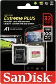 SanDisk microSDHC 100MB A1 32GB Extreme Plus SDSQXBG-032G-GN6MA