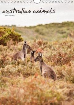 australian animals (Wandkalender 2018 DIN A4 hoch)