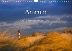 Amrum - Eine farbenfrohe Insellandschaft (Wandkalender 2018 DIN A4 quer)