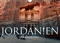 Jordanien - Felsenstadt Petra (Wandkalender 2018 DIN A4 quer) Dieser erfolgreiche Kalender wurde dieses Jahr mit gleichen Bildern und aktualisiertem Kalendarium wiederveröffentlicht.