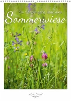 Ein Spaziergang über eine Sommerwiese (Wandkalender 2018 DIN A3 hoch) Dieser erfolgreiche Kalender wurde dieses Jahr mit gleichen Bildern und aktualisiertem Kalendarium wiederveröffentlicht.