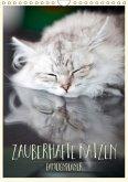 Zauberhafte Katzen - Familienplaner (Wandkalender 2018 DIN A4 hoch)