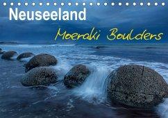 Neuseeland - Moeraki Boulders (Tischkalender 2018 DIN A5 quer)