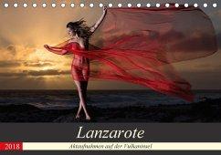 Lanzarote - Aktaufnahmen auf der Vulkaninsel (Tischkalender 2018 DIN A5 quer)