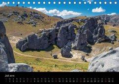 South Island - Neuseelands Südinsel (Tischkalender 2018 DIN A5 quer)