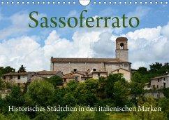 Sassoferrato - Historisches Städtchen in den italienischen Marken (Wandkalender 2018 DIN A4 quer)