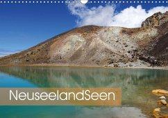 Neuseeland-Seen (Wandkalender 2018 DIN A3 quer)