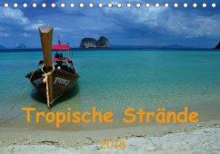 Tropische Strände (Tischkalender 2018 DIN A5 quer)